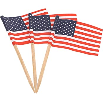 Royal American Flag Picks, Box of 1000