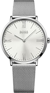 Hugo Boss Men 1513459 Year-Round Analog Quartz Silver Watch