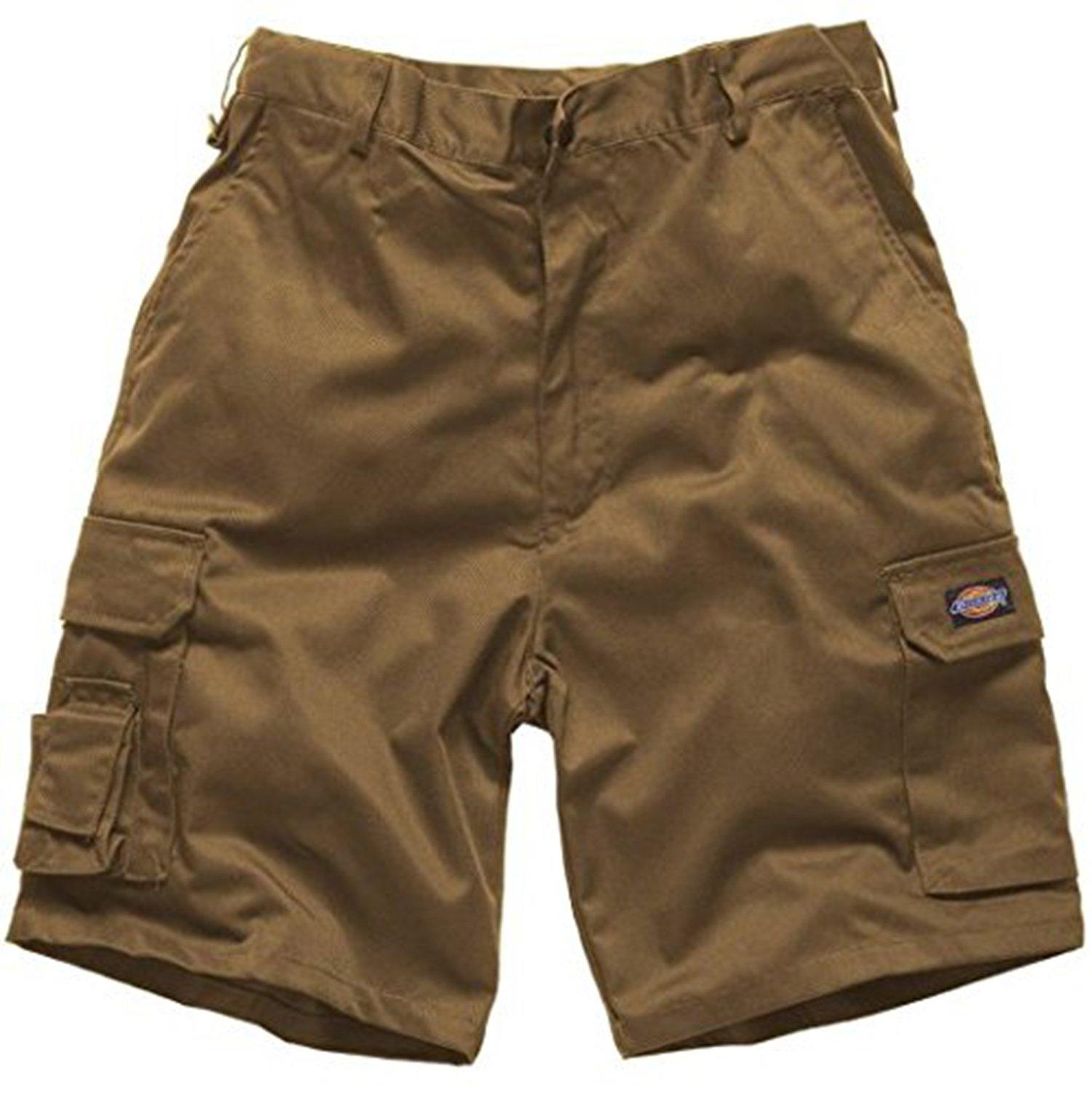 Black Size 34 Lee Cooper Workwear LCSHO806 Mens Multi Pocket Work Safety Pants Cargo Shorts