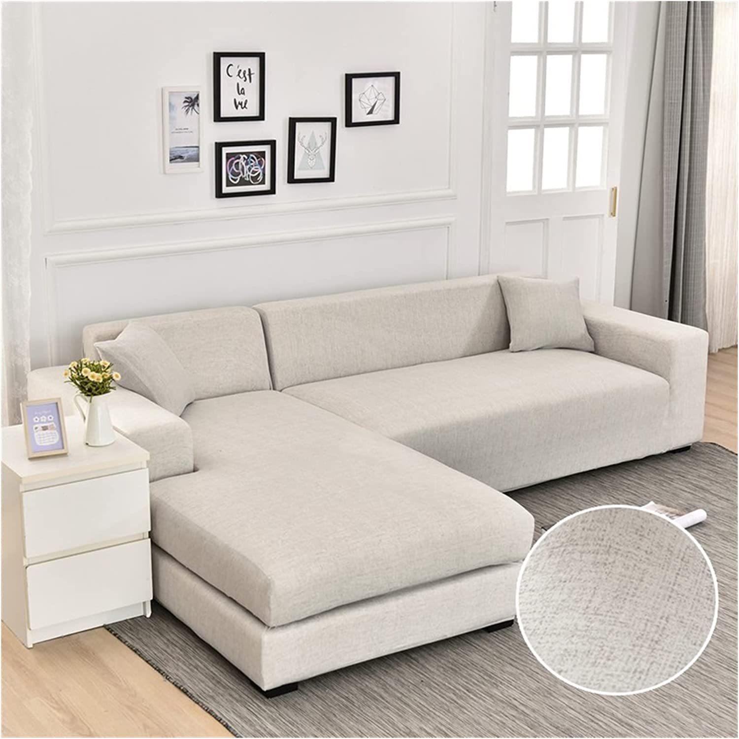 JDKJ Sofa Cover Geometric for Couch Price reduction Large discharge sale Liv Elastic
