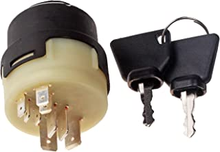 Mover Parts Ignition Switch with 2 keys for JCB New Holland NH Case 701/80184 701/45500 701/Y1372 330262 1532371C2 50988 20500101 85804674