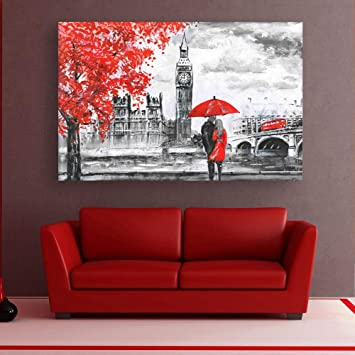 Buy Inephos Framed Canvas Painting Beautiful Couple Love Art Wall Painting For Living Room Bedroom Office Hotels Drawing Room 85cm X 55cm Online At Low Prices In India Amazon In