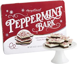 Peppermint Bark - Traditional Layered Dark and White Chocolate in Christmas Gift by Harry & David - 1 Pound