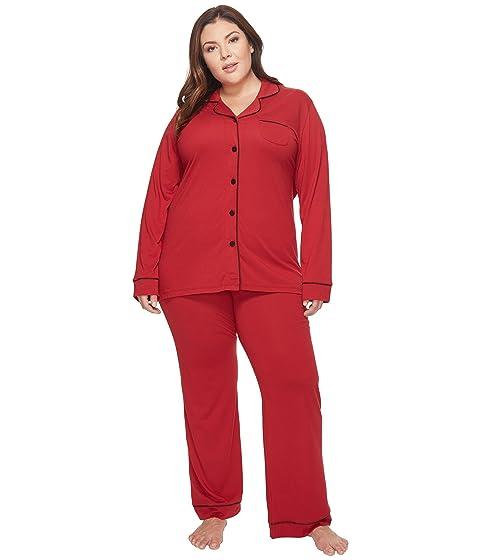 225398287e54 Cosabella Plus Size Bella PJ Long Sleeve Top and Pants PJ Set at 6pm