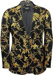 gold brocade suit jacket