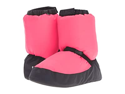 Bloch Warm Up Booties/Slippers (Pink Flourescent) Women