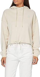 G-STAR RAW Women's Oversized Cropped Hooded Sweatshirt