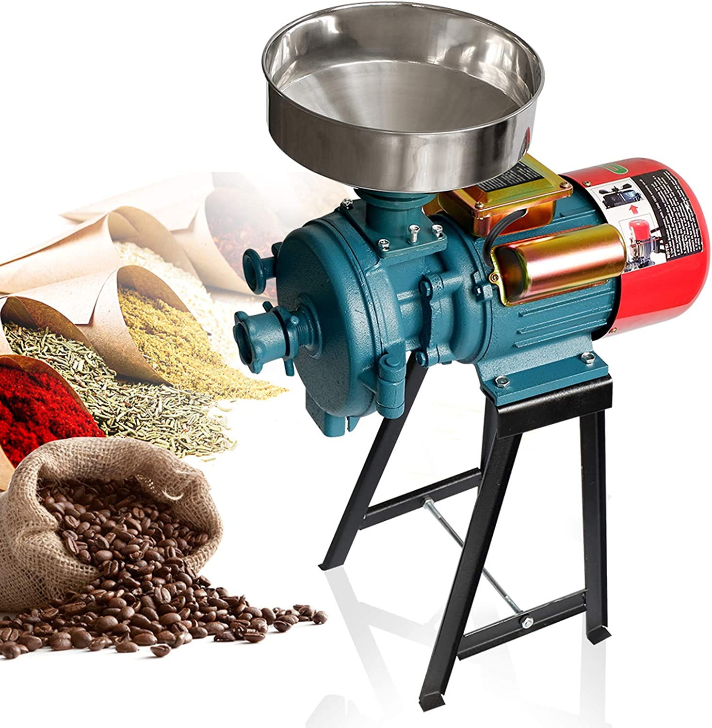 Grain Popularity Mills Electric Mill Grinder 3000W Recommended 110V