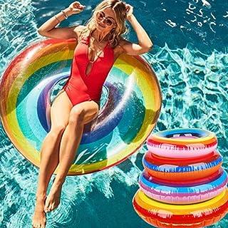Anillo de nataci/ón LED Happy People 77652