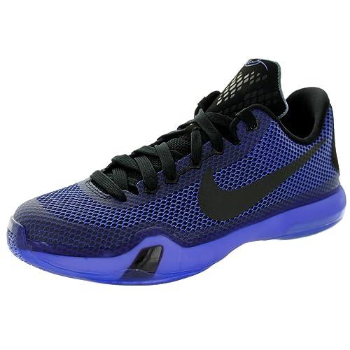 42c90745add Nike Kobe X Blackout (GS) Boys  Basketball Shoes