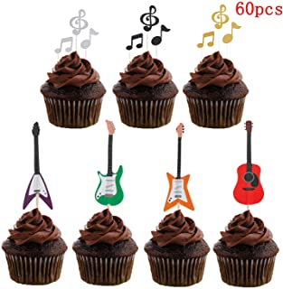 Strange Amazon Com Music Cake Cupcake Toppers Party Supplies Toys Funny Birthday Cards Online Alyptdamsfinfo