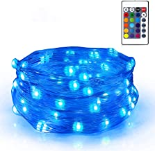 SUNNEST Fairy Lights Battery Operated, 16 Color Changing Twinkle Lights String Lights Led Fairy Lights or Bedroom Wedding ...