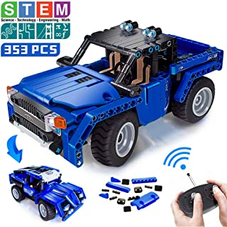 VERTOY Remote Control Building Kits, STEM Toys for Boys...
