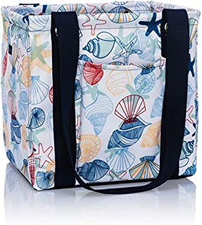 Thirty One Small Utility Tote - 9337 - No Embroidery - in Saltwater Shells