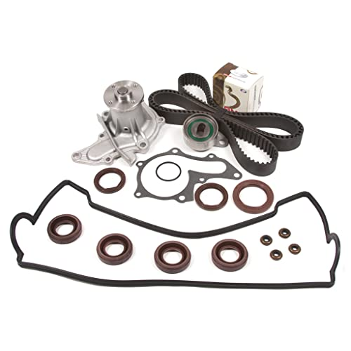 Evergreen TBK236VCT Fits 93-97 Geo Prizm Toyota Corolla 1.6L 4AFE Timing Belt Kit