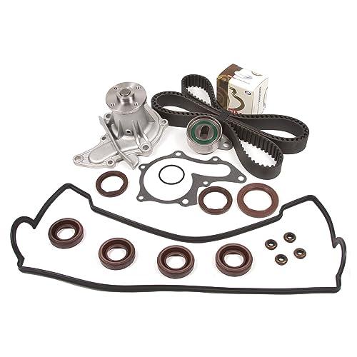 Evergreen TBK236VCT Fits 93-97 Geo Prizm Toyota Corolla 1.6L 4AFE Timing Belt Kit
