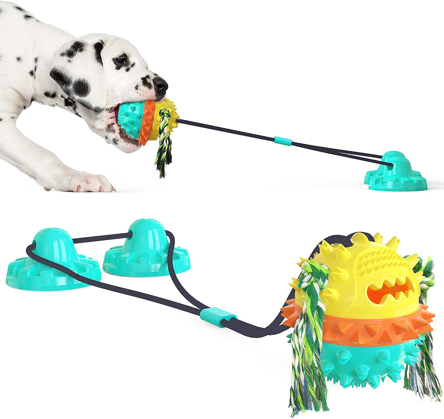 Superior BeiNing Dog Chew New sales Suction Cup Tug Intera War of Multifunction Toy