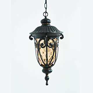 Yosemite Home Decor 519MHIORB Viviana Collection Nine-Inch Incandescent Hanging, 1-Light Exterior Light/20.5, Oil-Rubbed Bronze, 68 Piece