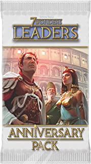 Repos Production 7 Wonders Leaders Anniversary Pack Card and Board Game - 12 Years Above