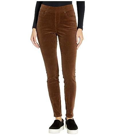 Jag Jeans Maya Skinny Pull-On Corduroy Pants (Walnut) Women
