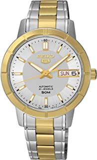 Seiko Two-tone Automatic Womens Watch, 34mm [SNK892J1]