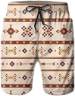 Lixinli Men's Native American with Arrows Boardshorts Beach Shorts