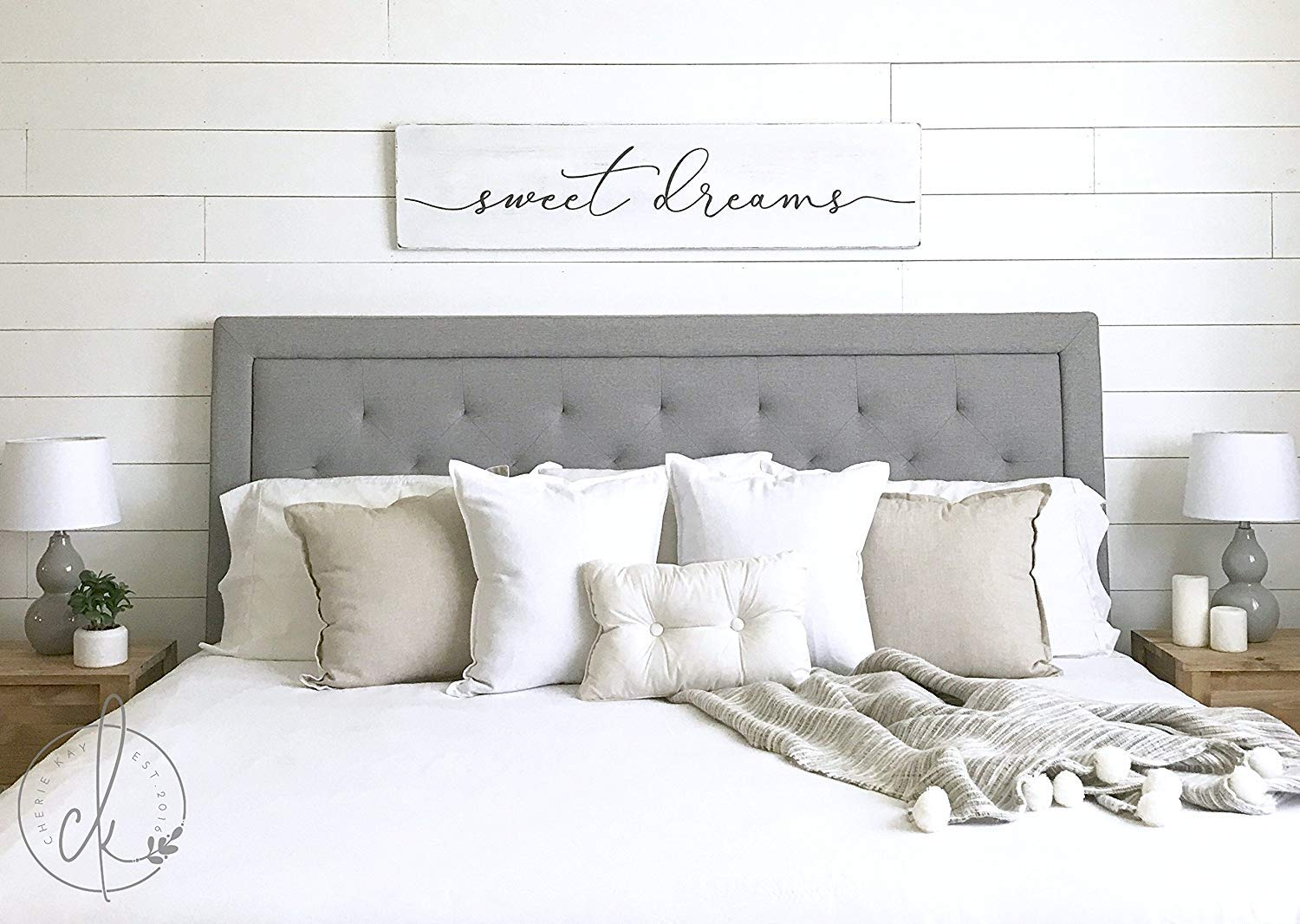 Amazon.com: Emily Sweet Dreams Sign Master Bedroom Sign Bedroom