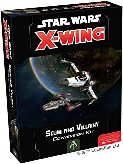 HABA Current Edition Star Wars X Wing 2Nd Edition Scum and Villainy Conversion Kit (13/9) Board Game