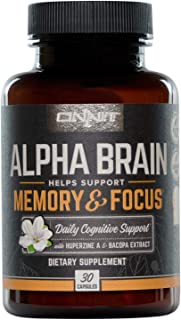 ingredients of alpha brain