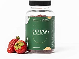 Sponsored Ad - The Retinol Gummy | Vitamin A Gummy Supplement for Anti-Aging, Acne, Clear Skin, Strawberry Flavor