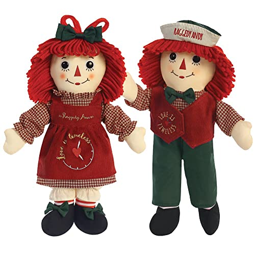 Raggedy Ann & Andy Love is Timeless Dolls by Aurora for Christmas Holiday 2016