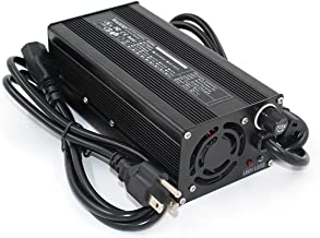 58.4V 5A Charger 58.4V LiFePO4 Battery Charger for 16S 48V LiFePO4 Battery Pack Smart Charge Auto-Stop