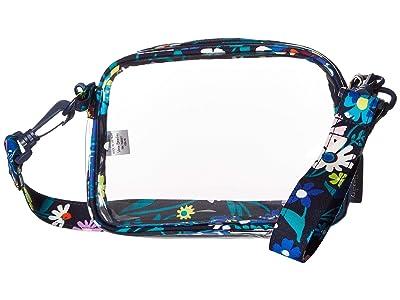 Vera Bradley Clearly Colorful Stadium Crossbody (Moonlight Garden) Handbags