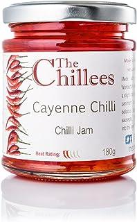 The Chillees Mermelada de pimientos de Cayena 180g Producto