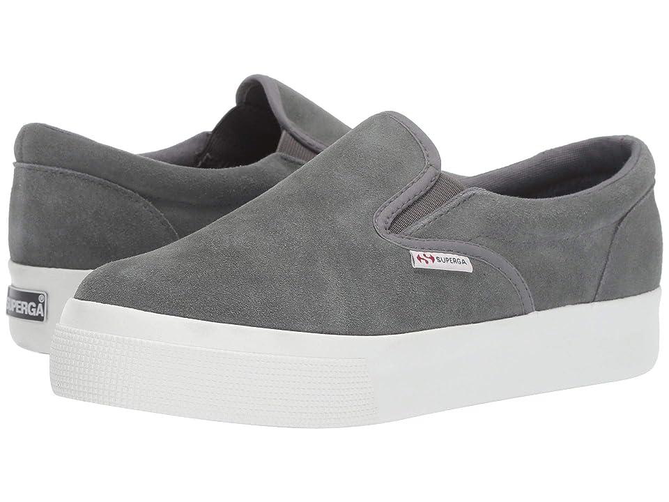 Superga 2306 Suew Sneaker (Dark Grey Suede) Women