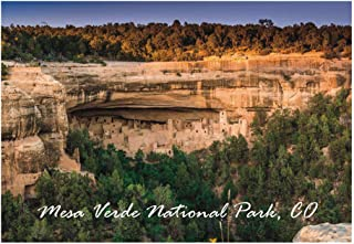 Cliffs Palace at Mesa Verde National Park, Colorado, CO Souvenir Magnet 2 x 3 Photo Fridge Magnet
