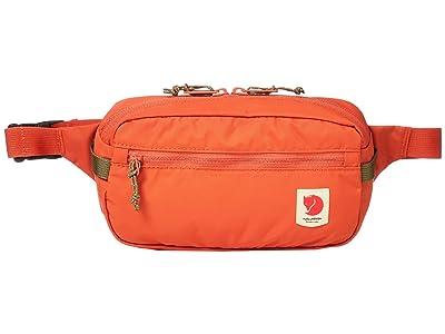Fjallraven High Coast Hip Pack (Rowan Red) Bags