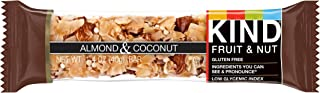 KIND Bars, Almond Coconut, Gluten Free, Low Sugar, 1 Count,Pack of 1
