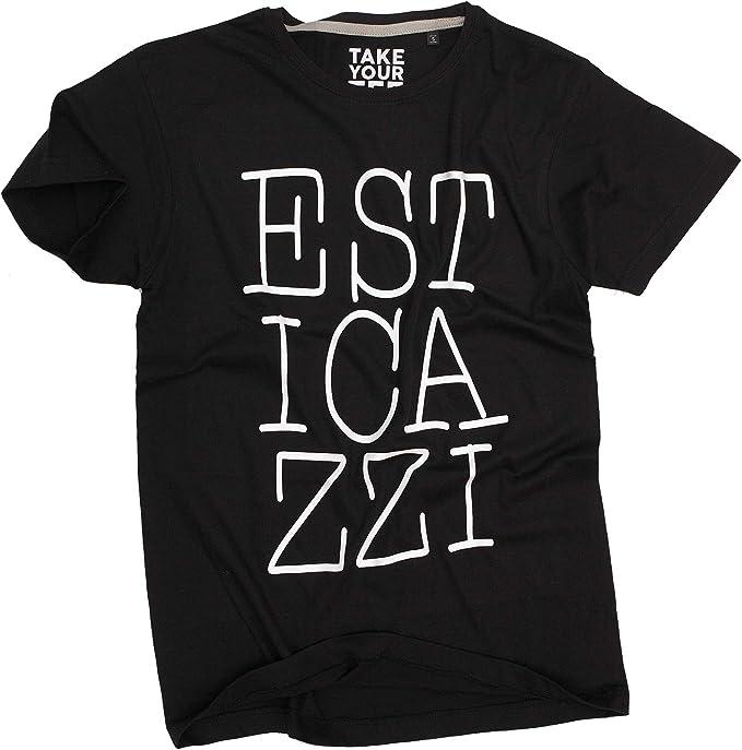 21 opinioni per Takeyourtee T-Shirt Divertente Uomo Ironica Fashion esticazzi