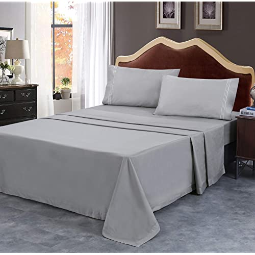 Complete Bedding Set Duvet Cover Fitted Sheet and Pillowcase Bed Sets Tumble