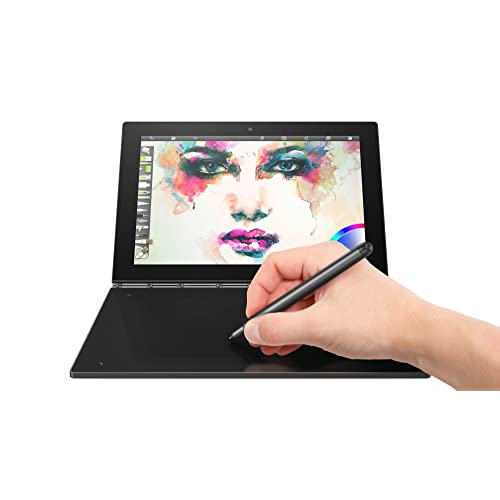 Lenovo Yoga Book 25,5 cm (10,1 Zoll Full HD IPS Touch) Convertible Tablet-PC (Intel Z8550, 4 GB RAM, 128 GB eMMC, Wi-Fi, Windows 10 Pro) schwarz