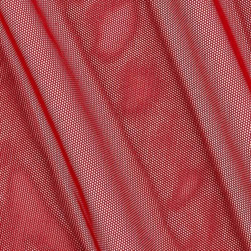 Telio Stretch Nylon Mesh Knit Scarlett, Fabric by the Yard