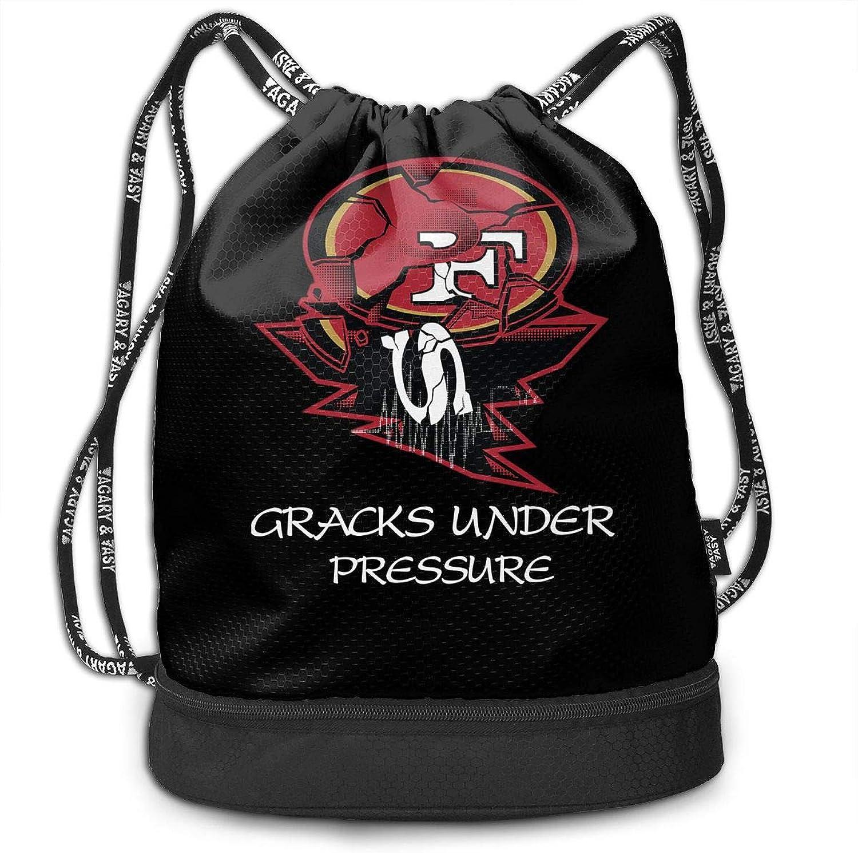 Gymsack 49ers Parody Print Drawstring Bags  Simple Hiking Sack