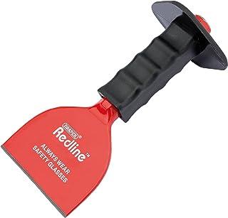 Draper Redline 68602 100 x 220 mm Brick Bolster Baksteen Bolster met handbescherming 100 x 220 mm Blauw