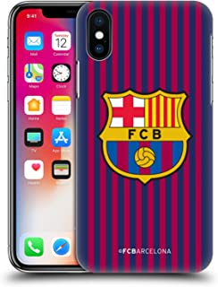 Official FC Barcelona Home 2018/19 Crest Kit Hard Back Case Compatible for iPhone X/iPhone Xs