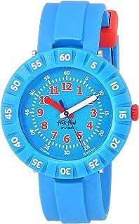 Flik Flak Kids Garden Adventure Swiss Quartz Watch with Plastic Strap, Blue, 16 (Model: ZFCSP096)