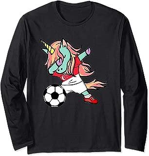 Unicorn Dabbing Soccer Singapore Jersey Shirt Football Gift