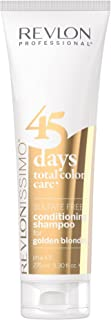Revlon Professional 45 Days Conditioning For Golden Blondes Champú 275 ml