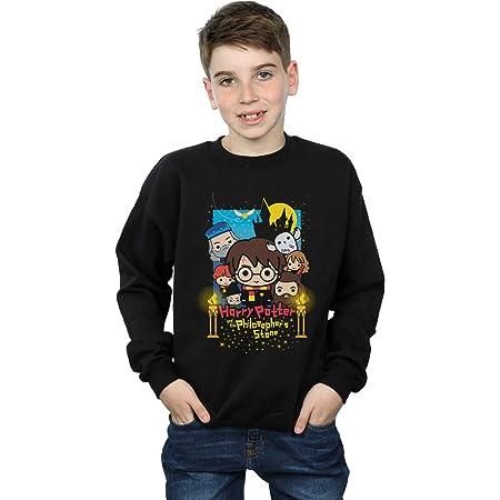 HARRY POTTER niños Philosopher's Stone Junior Camisa De Entrenamiento 12-13 Years Negro