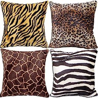 Pillow Cover Fabric Animal Print Nursery Decor P Kaufmann Wilderness Rainforest Home Decor Fabric Teal Green Orange Safari Fabric Yardage